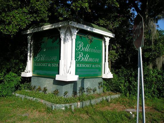 Pinellas Trail - Belleview Biltmore Sign