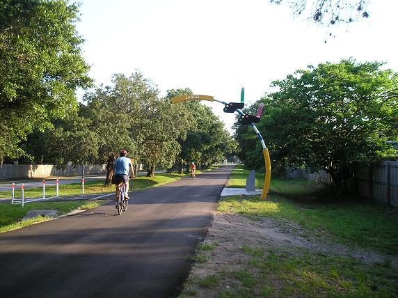 Pinellas Trail - Largo Sign