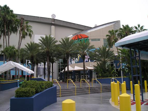 Main Entrance to Tropicana Field - downtown St. Petersburg