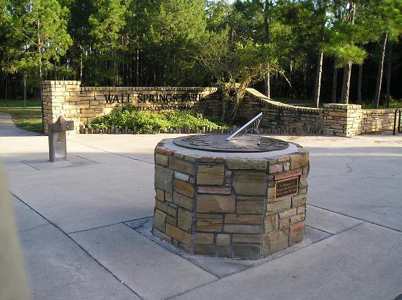 Wall Springs Park Sundial