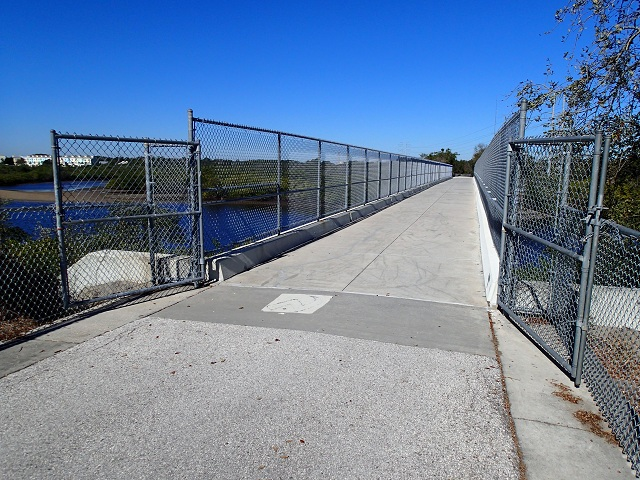 North Anclote River Bridge looking north
