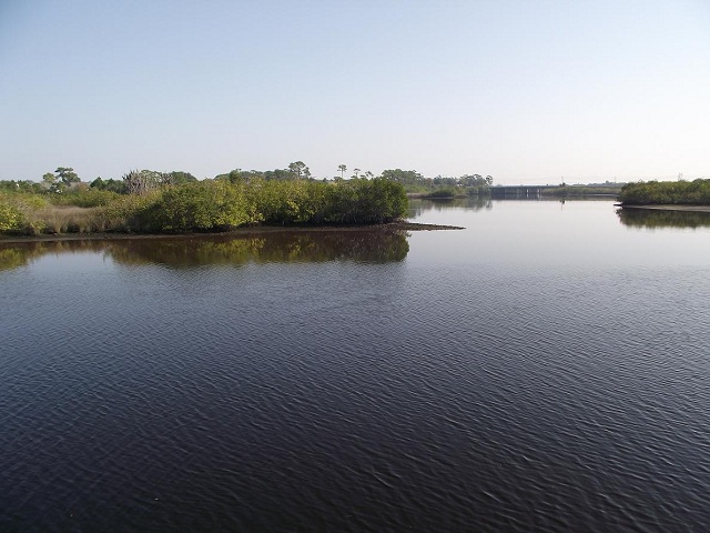 View of the North Anclote River