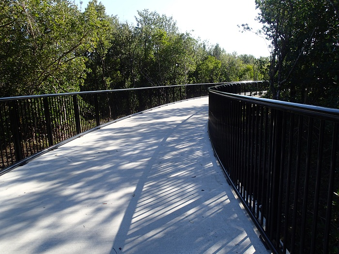Skyway Trail Extension - Winding Trail