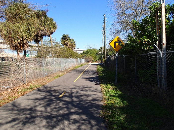 Skyway Trail Extension - Trail Shot