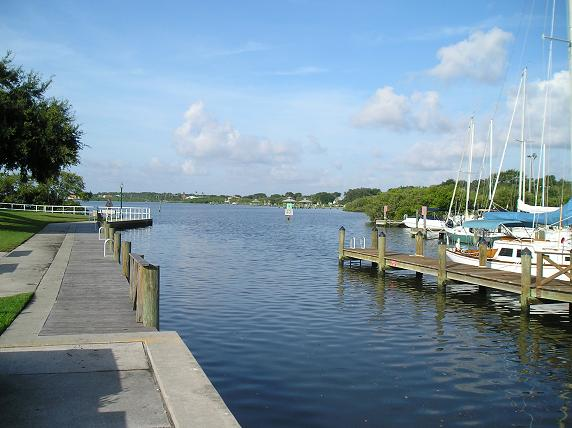 Safety Harbor - Marina looking South