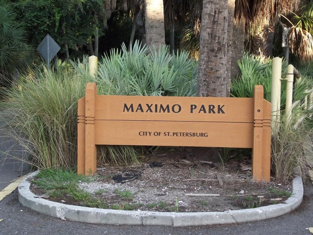 Skyway Trail - Maximo Park Sign