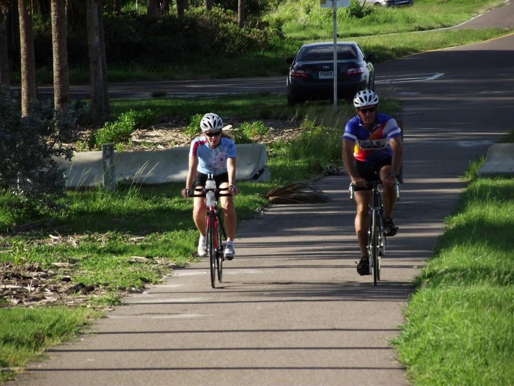 Skyway Trail - Cyclists