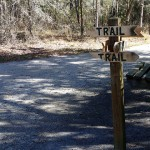 Trail Signage at N. Anclote River Nature Park