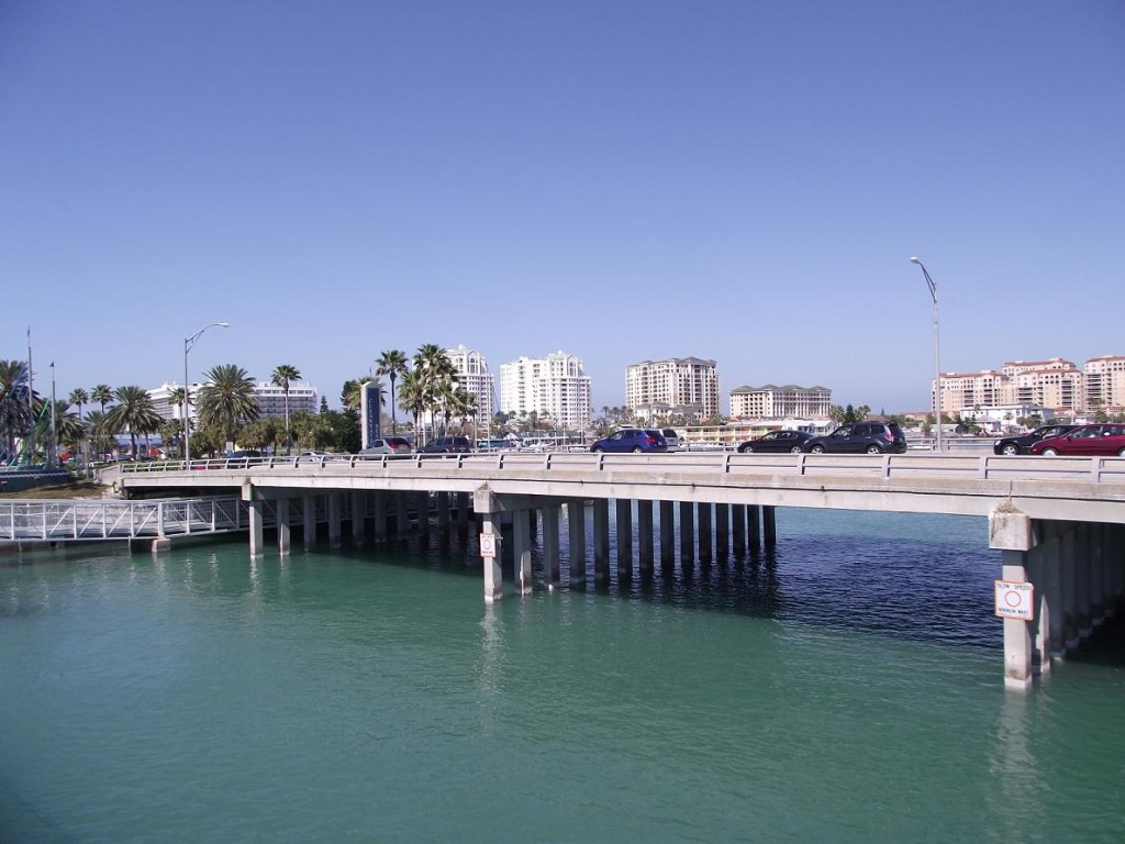 Clearwater Beach - Causeway Boulevard Bridge