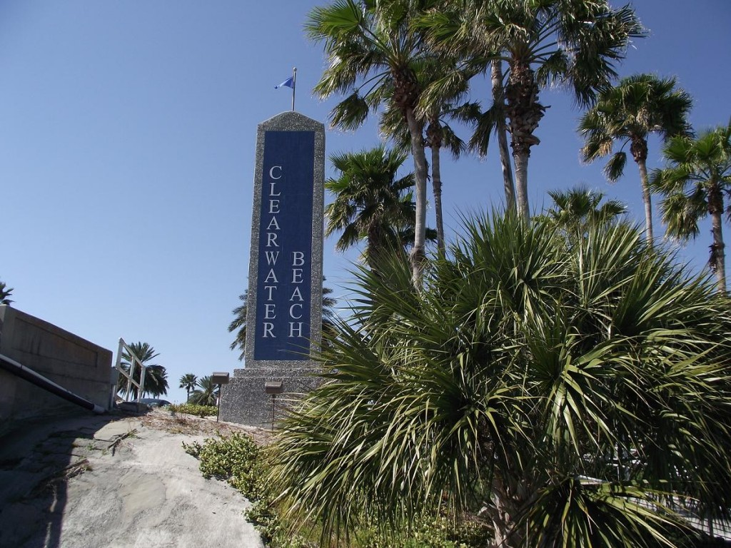 Clearwater Beach - Welcome Sign