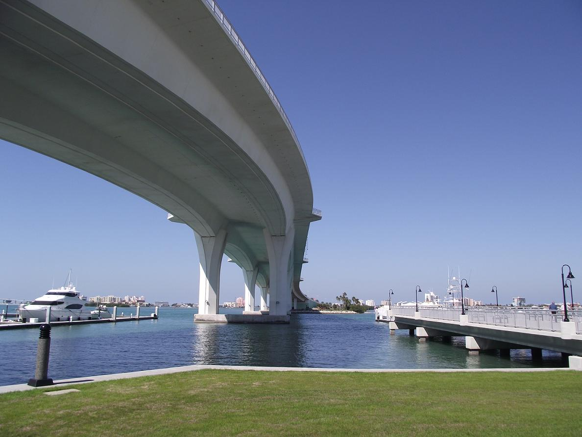 Clearwater Memorial Causeway Bridge - North Side