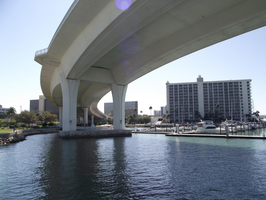 Clearwater Memorial Causeway Bridge - South Side