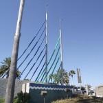 Clearwater Beach - Sail Sculpture