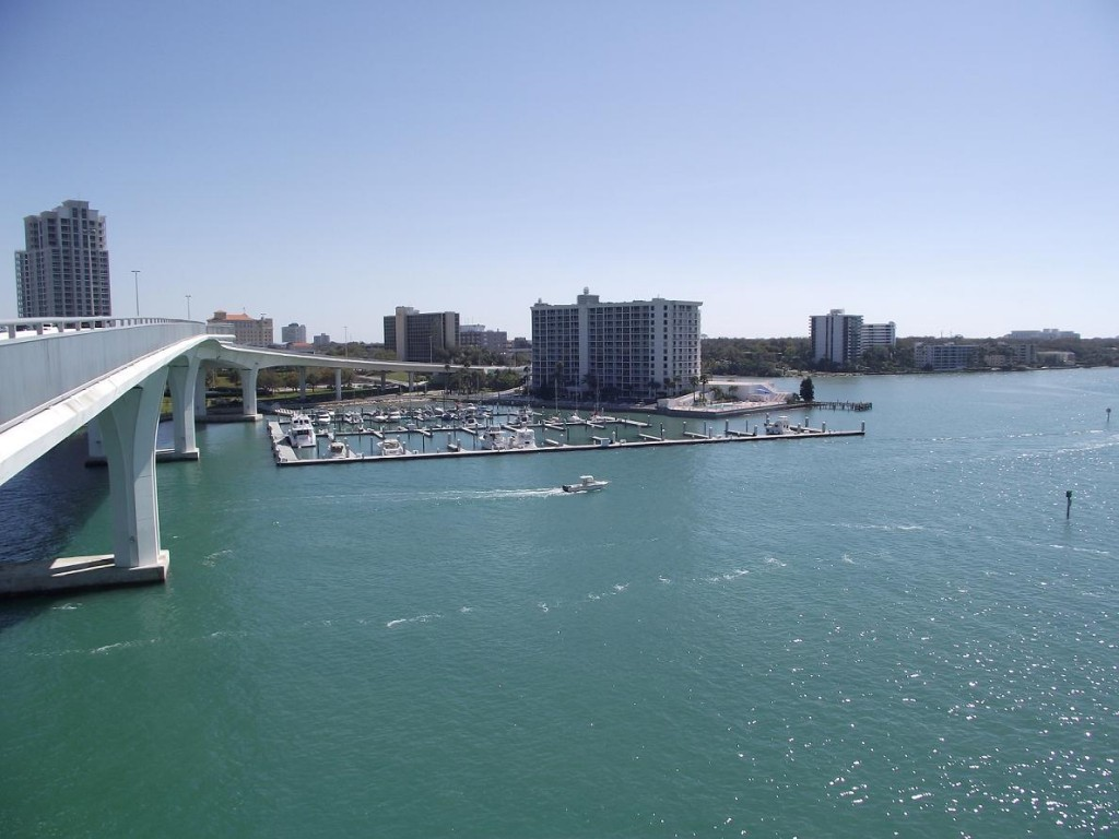 View to the Southeast from the Clearwater Memorial Causeway Bridge