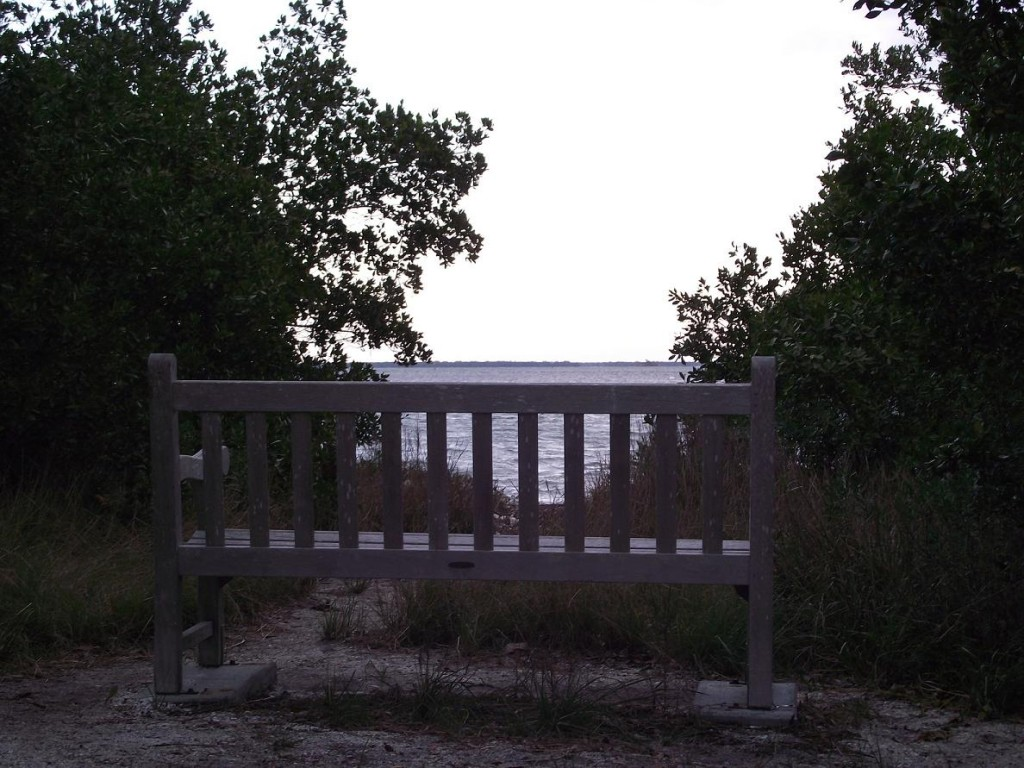 Boca Grande Bike Path - View of Peekins Ranch Cove
