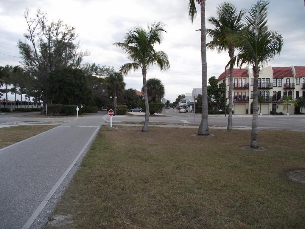Boca Grande Bike Path - View along 5th Street