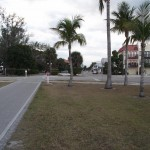 Boca Grande Bike Path - View along 5th Street