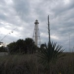 Boca Grande Bike Path - Gasparilla Light (Rear Range) Distant View