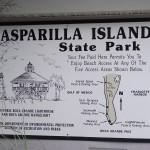 Boca Grande Bike Path - Gasparilla Island State Park Sign