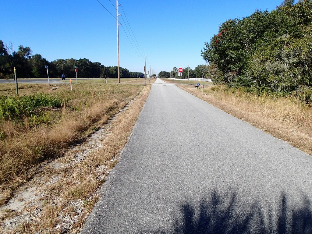 Nature Coast State Trail - Cross City Looking North
