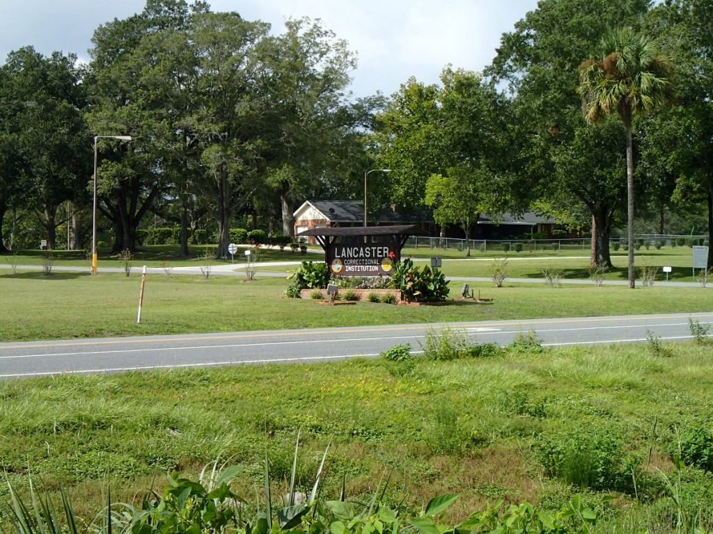 Nature Coast State Trail - Lancaster Correctional Facility Sign