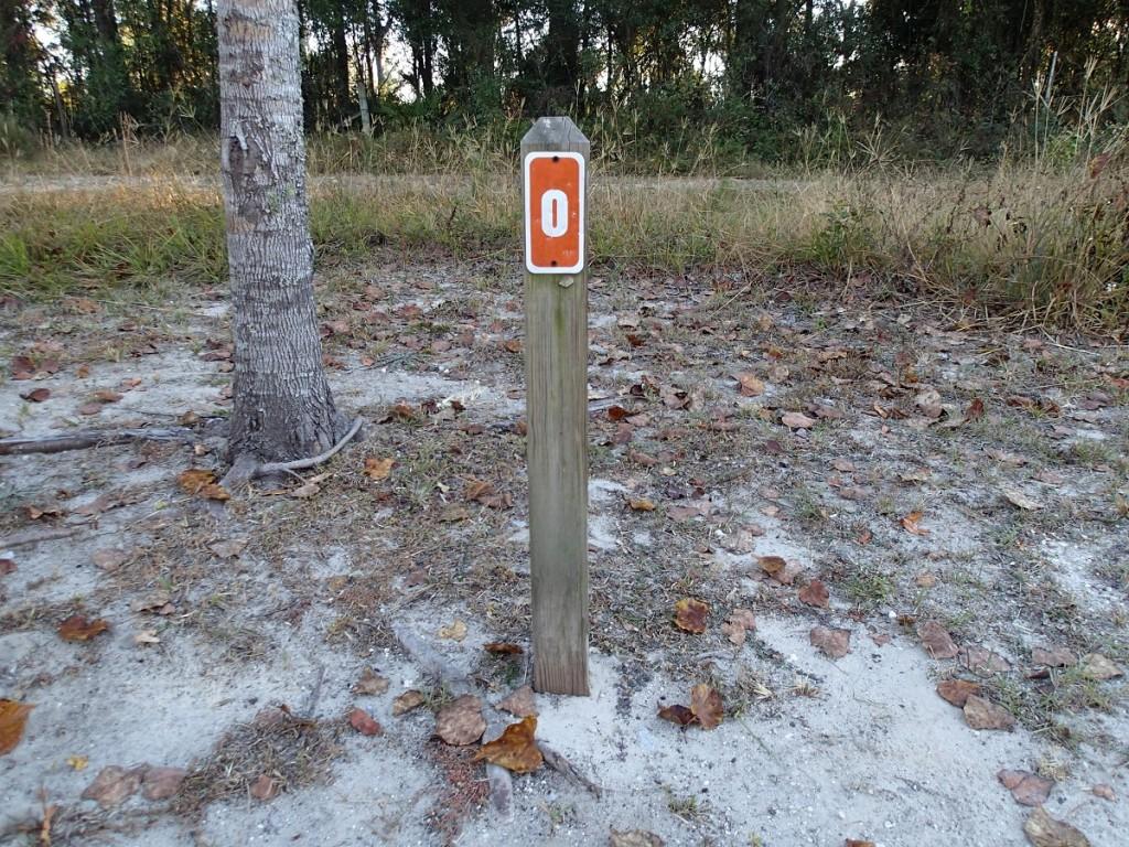 Nature Coast State Trail - Mile Marker 0