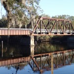 Nature Coast State Trail - Suwannee River Bridge Close View