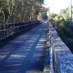 Nature Coast State Trail - Suwannee River Bridge Looking West