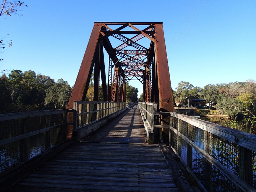 Nature Coast State Trail - Suwannee River Bridge Looking West Close View