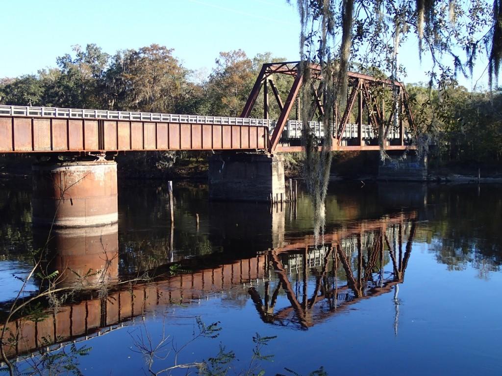 Nature Coast State Trail - Suwannee River Bridge with Moss