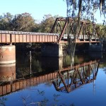 Nature Coast State Trail - Suwannee River Bridge with Moss
