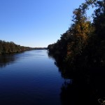 Nature Coast State Trail - Suwannee River Looking North