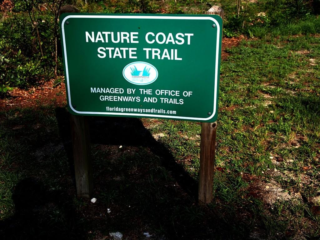 Nature Coast State Trail - Trail Sign