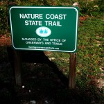 Nature Coast State Trail - Trail Sign