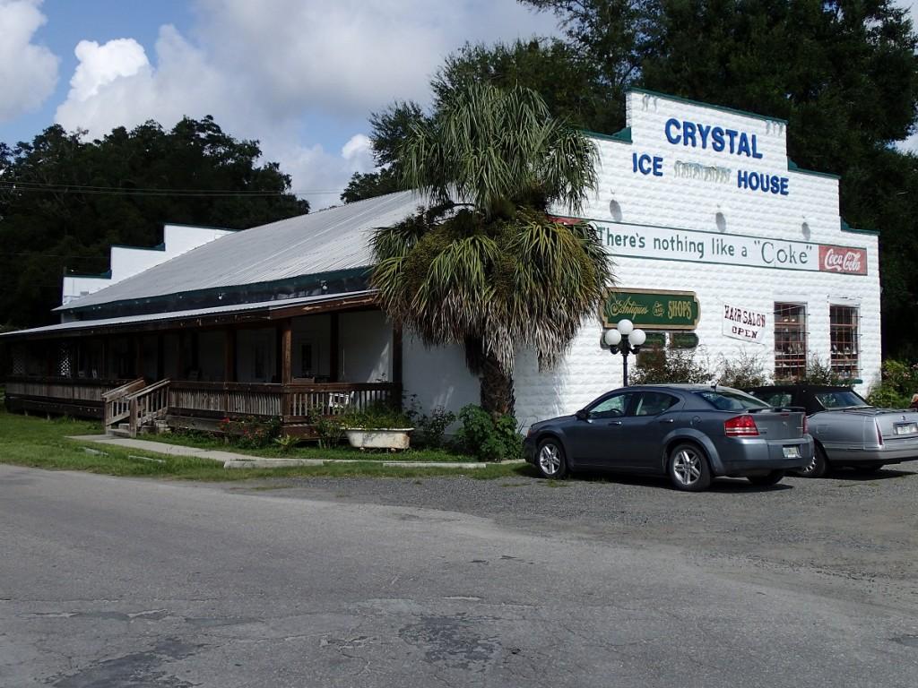 Nature Coast State Trail - Trenton Crystal Ice House