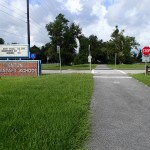 Nature Coast State Trail - Trenton Elementary School Sign