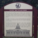 Fort Fraser Trail - History of Bartow Sign