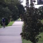 Fort Fraser Trail - Cyclist