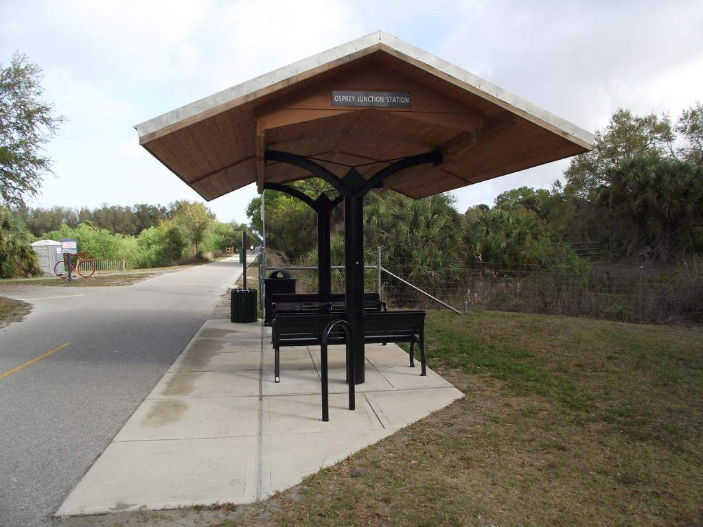 Legacy Trail - Osprey Junction Station