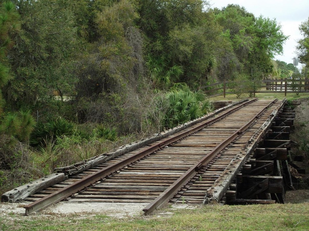 Legacy Trail - Old Railroad Trestle