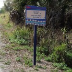Legacy Trail - Mileage Sign
