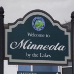 Lake Minneola Scenic Trail - Minneola Sign