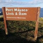 LOST - Port Mayaca Lock & Dam Sign