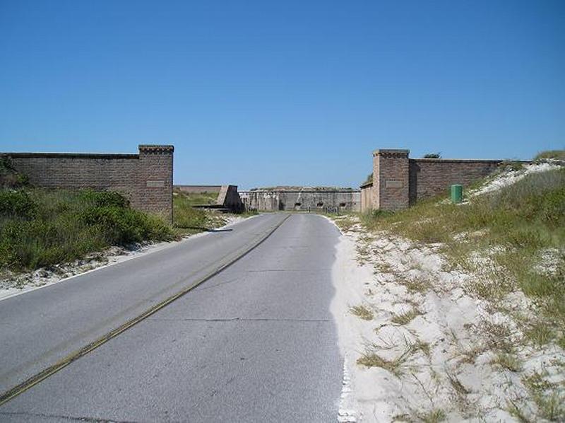 Fort Pickens - Entrance