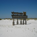 Gulf Islands National Seashore - Sign
