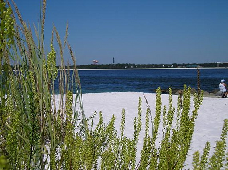Fort Pickens - Looking over Pensacola Bay