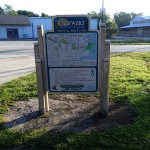 NE Coachman Park Trail Sign along Ream Wilson Trail