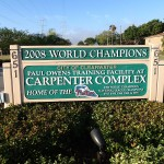 Carpenter Complex Sign along Progress Energy Trail