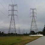 Iron Giants - High Tension Power Lines along Progress Energy Trail