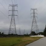 Iron Giants - High Tension Power Lines along Progress Energy Trail